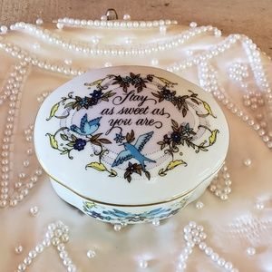 "Other - ""Songs of Love"" porcelain music box. Stay as sweet"